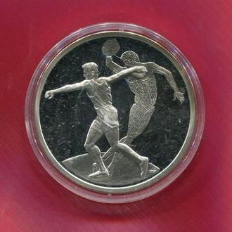 Греция 10 евро 2004 ПРУФ серебро Олимпиада Афины