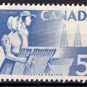 Канада  1955 г  MNH -
