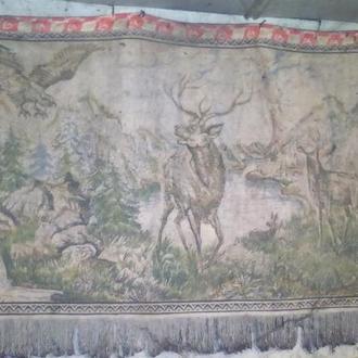 Гобелен ковер природа СССР
