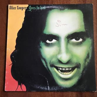 LP Alice Cooper Goes to Hell OIS США