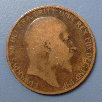 Великобритания, 1 penny 1906 год