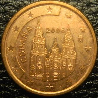 5 євроцентів 2006 Іспанія