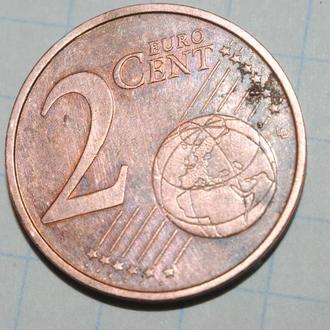 2 евроцента 2011 г Эстония