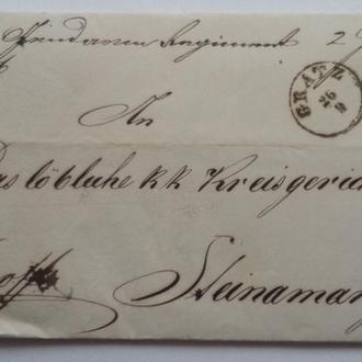 Конверт Австрия 1857 г