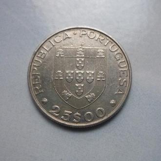 Португалия 25 эскудо 1986 юб. состояние