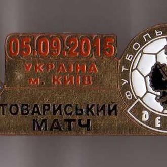 футбол значок  -  ТМ 2015 Десна Чернигов - Динамо Киев