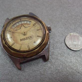 часы наручные циферблат механизм ракета №98