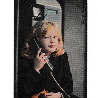 Календарик 2002 Телефонная карточка, связь, ребёнок