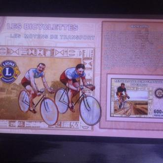 Конго история велоспорта комплект 4 листа**