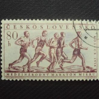 ЧССР 1956 гаш.