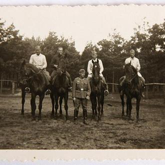 Старое фото На лошадях Вторая мировая война Германия fB 561a4a6b11981