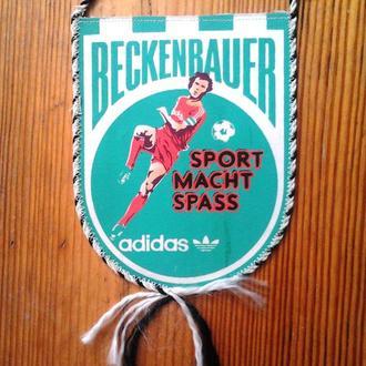 """Вимпел сувенірний """"Beckenbauer"""""""