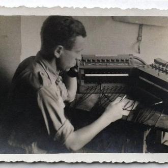 Старое фото Связист Вторая мировая война Германия nB2 db5c3f514ae16