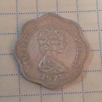 СЕЙШЕЛЬСКИЕ ОСТРОВА, 5 центов 1972 (ФАО)