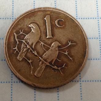 ЮАР, 1 цент 1980