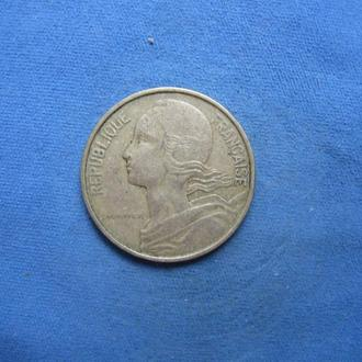 Франция 10 сантимов 1963 год