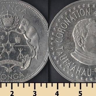 ТОНГА 1 ПААНГА 1967 НАДПЕЧАТКА