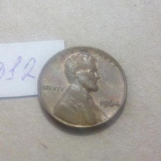 1 цент 1964 США