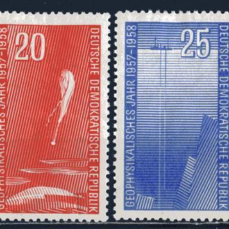 ГДР. Космос (серия)* 1958 г.
