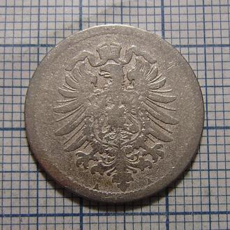 Германия, 10 пфеннигов 1875 г (А - Берлин)