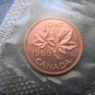 Канада 1 цент 1965