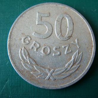 Польша 50 грошей 1985