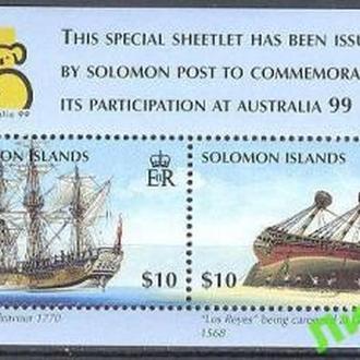 Соломоновы острова 1999 MNH