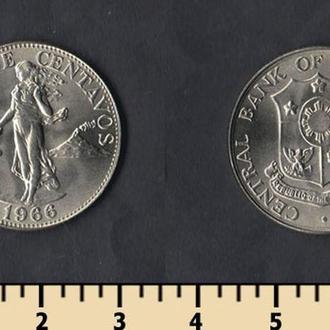 Филиппины 25 сентаво 1966