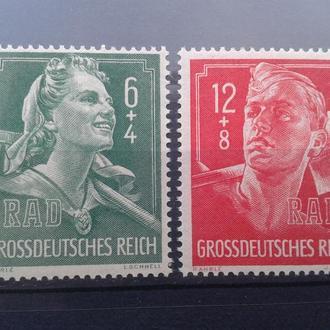 германия рейх-№894-895 MNH