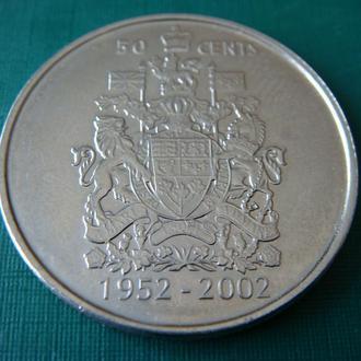 Канада 50 центов 2002