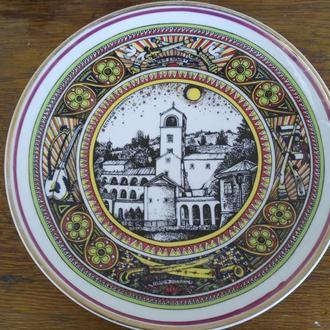 Коллекционная тарелка.Югославия