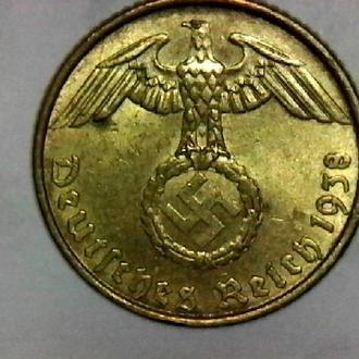 5 рейхспфеннигов 1938 «А» Германия