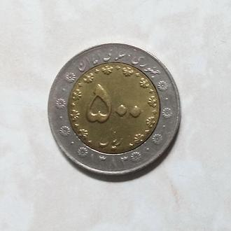 500 риалов Иран 2003-2006