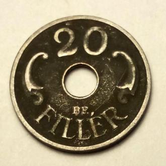 20 филлеров 1941 года Венгрия  !!! а2