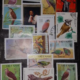 Колекция марок СССР, Польши, Кубы