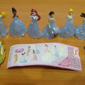 принцессы серия (8ф.) вкладыш новые