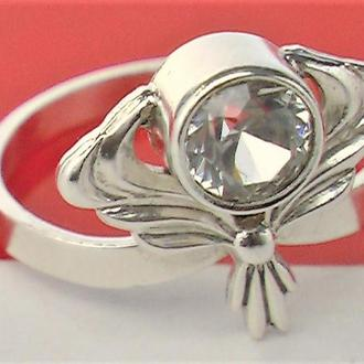 Кольцо перстень серебро СССР 916 проба 2,92 гр 17,5 размер