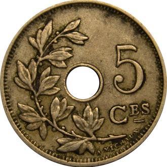 Бельгія 5 centimes 1927