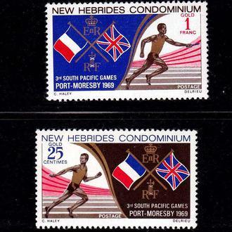 GB NH / Новые Гибриды  1969 г MNH - спорт