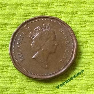 1993 Канада 1 цент