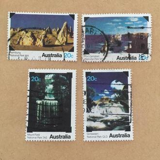 Австралия/ природа/ водопад/ 1979