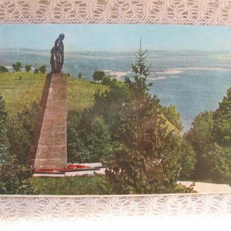 Открытка Памятник Т. Шевченко в Каневе  МИСТЕЦТВО