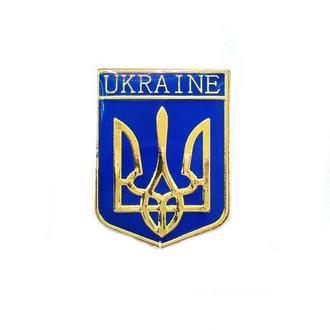 Значок герб Трезубец Украина патриотический  024