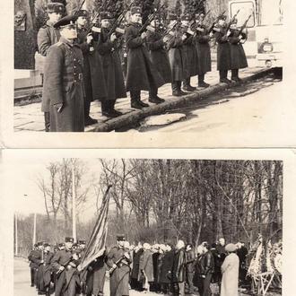 Фото. Военные похороны.