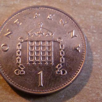 Великобритания 1 пенни 2000