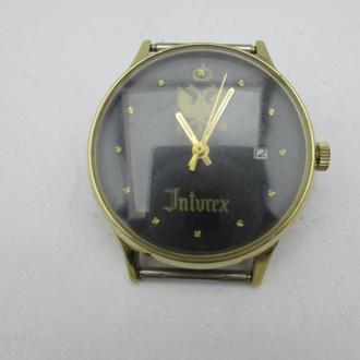 Часы Слава Inturex наручные. Позолота