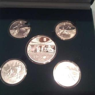 Набор Евро / Набір Євро 2012 серебро СКИДКА*