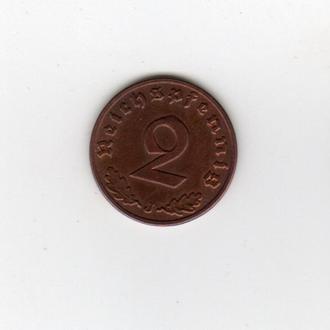 2 ПФЕННИГ 1937