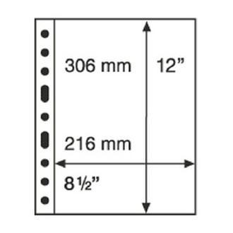 Лист-обложка SH312 (1 С) прозрачный (аналог GRANDE), Leuchtturm