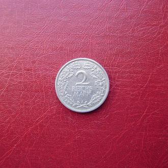 Германия (Веймар) 2 марки 1927 Редкая